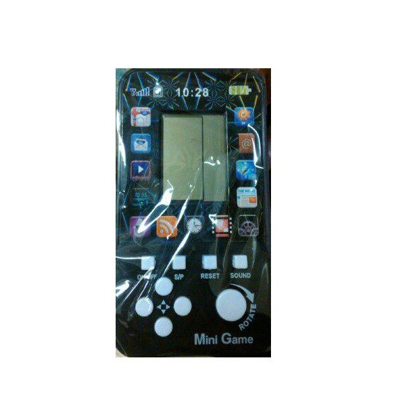 """Электронная игра """"Тетрис"""" - Brick Phone (звук), черная с белыми кнопками"""