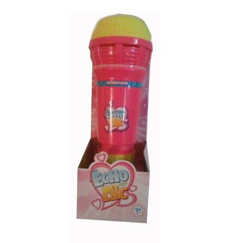 Игрушечный микрофон Echo Mic, розовый (свет, звук)