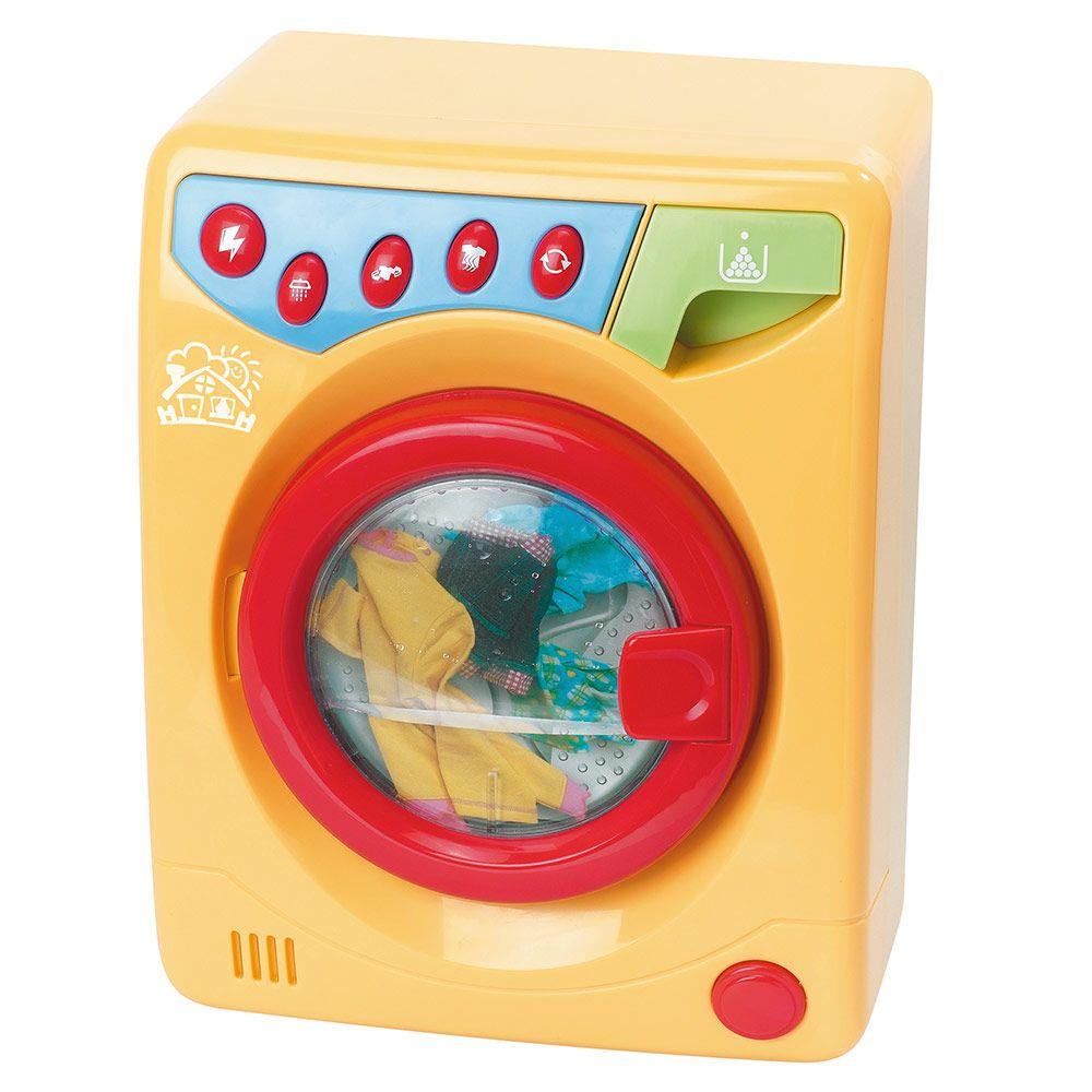 Игрушечная стиральная машинка (свет, звук)