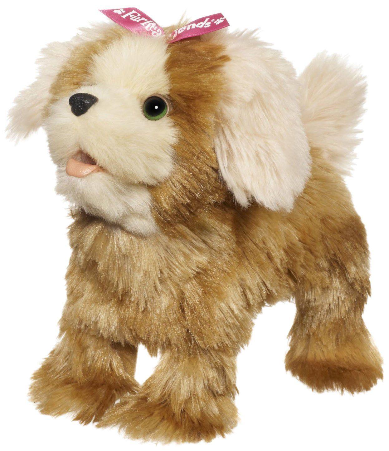 Ходячий щенок FurReal Friends, коричневый с бантом