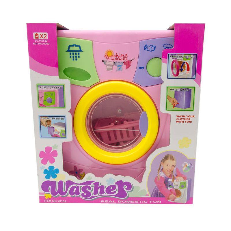 Детская стиральная машина Washer, розовая