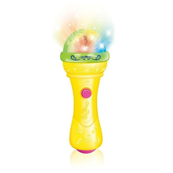 """Интерактивная игрушка """"Микрофон"""" - Диско (свет, звук)"""