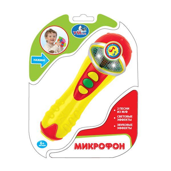 """Развивающая игрушка """"Микрофон"""" (свет, звук)"""