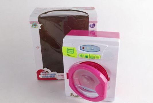 Кукольная стиральная машинка (свет, звук)