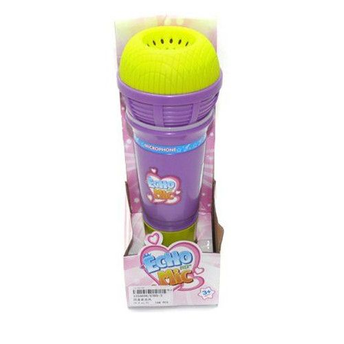 Игрушечный микрофон Echo Mic (свет, звук), фиолетовый