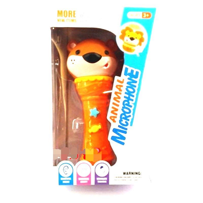 """Детский микрофон - """"Мишка"""" (свет, звук)"""