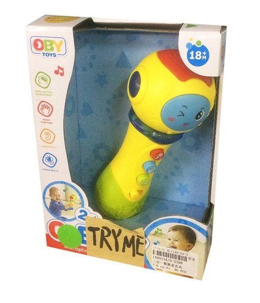 """Детская игрушка """"Микрофон"""" (свет, звук)"""