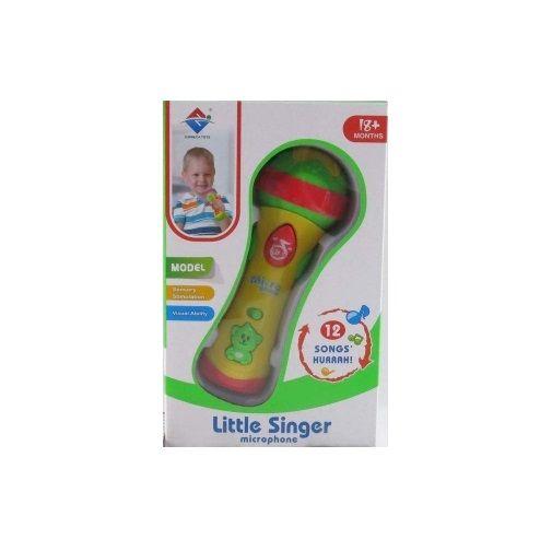 Игрушечный микрофон Little Singer (свет, звук)