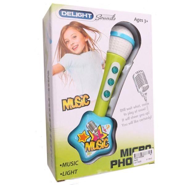 Игрушечный микрофон Musik (свет, звук)