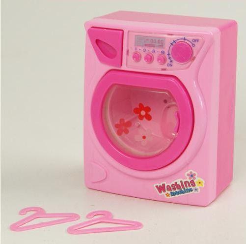 Розовая стиральная машинка