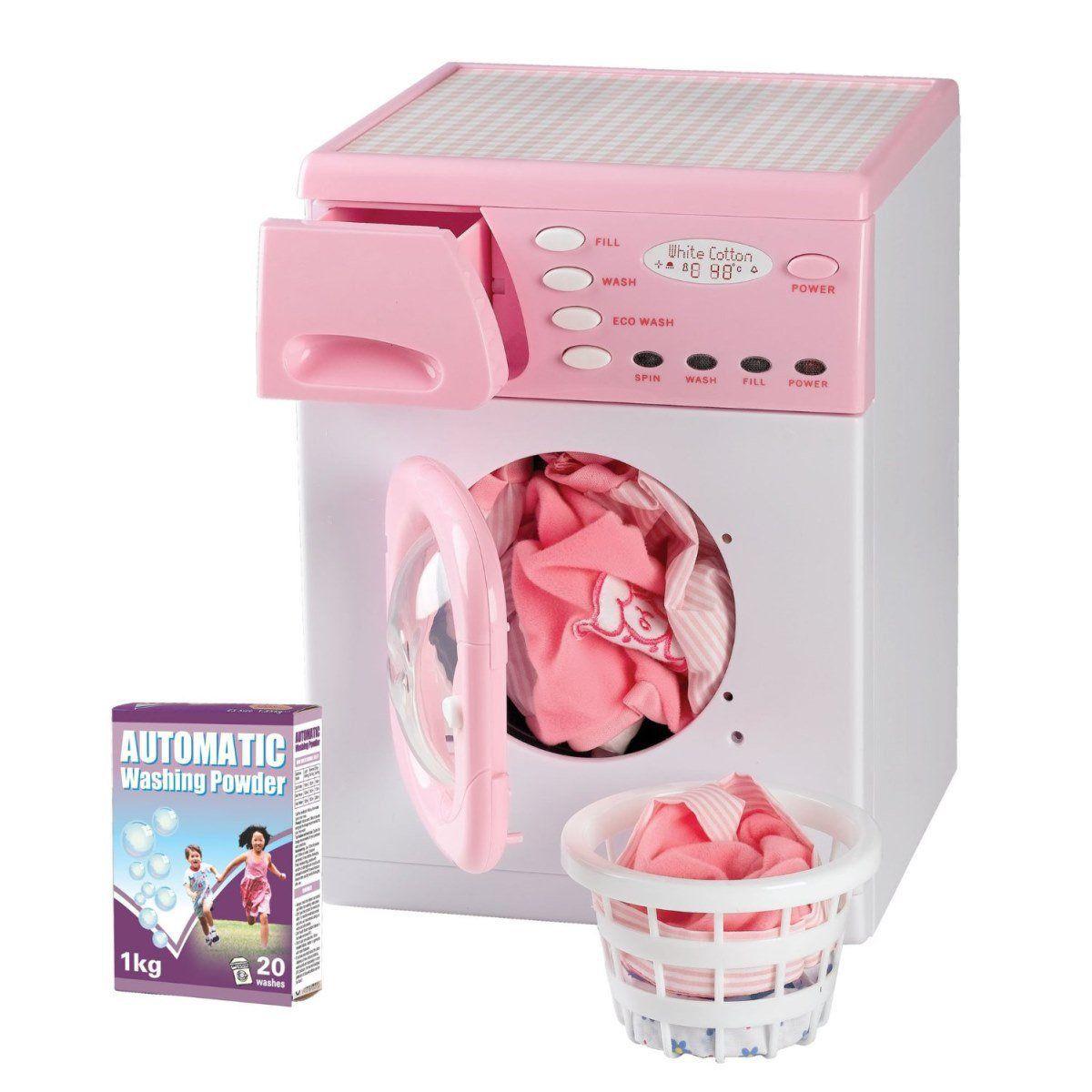 """Игровой набор """"Стиральная машина"""", розовая"""