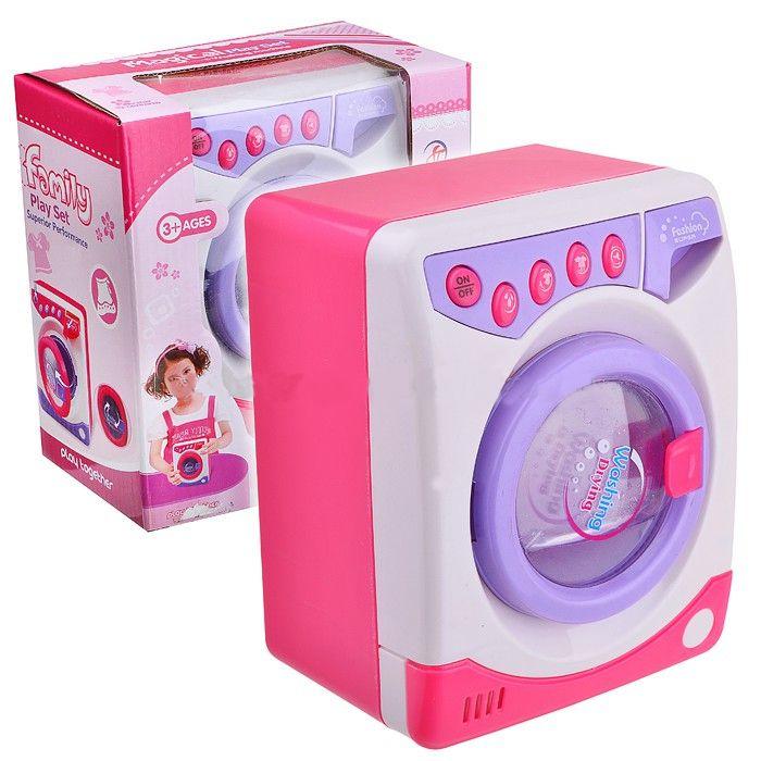Игрушечная стиральная машина Magical Family Set - Lots Of Fun (звук)