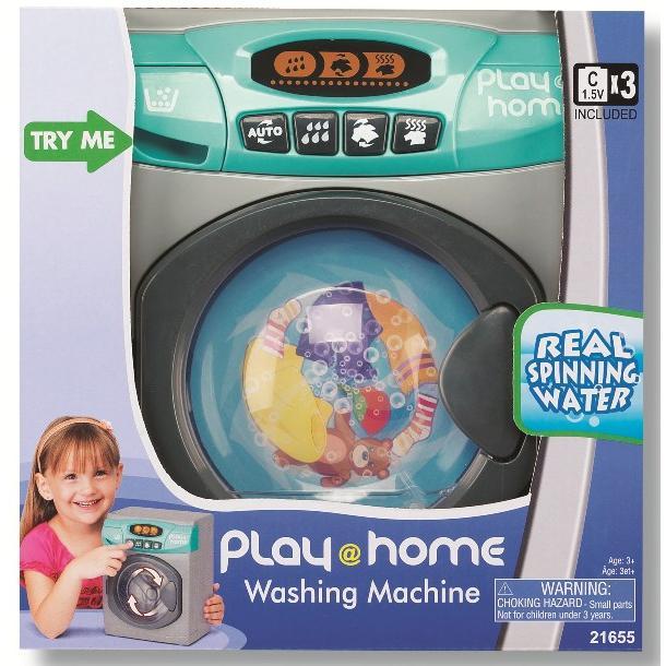 Стиральная машинка Play Home (звук, свет)