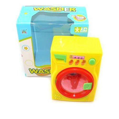 Функциональная стиральная машина (свет, звук)
