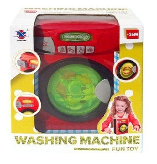 Стиральная машина Fun Toy (свет, звук)