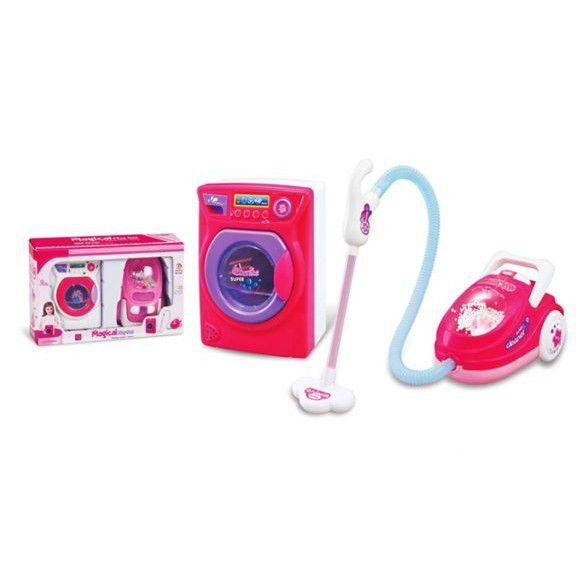 Игровой набор Family - Стиральная машинка и пылесос (свет)