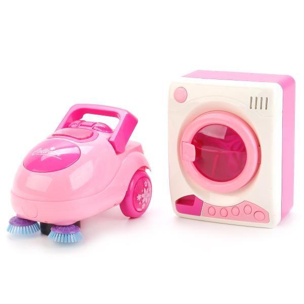 """Игровой набор """"Маленькая хозяйка"""" - Пылесос и стиральная машинка (свет, звук)"""