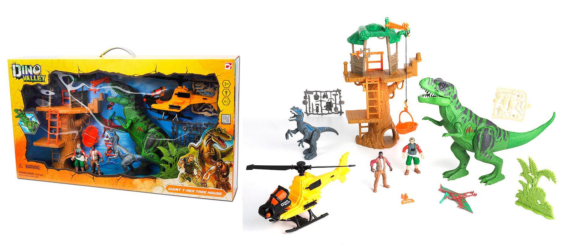 """Игровой набор """"Охота на Тираннозавра в джунглях"""""""