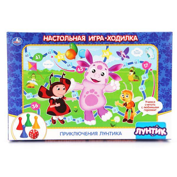"Настольная игра-ходилка ""Лунтик"""