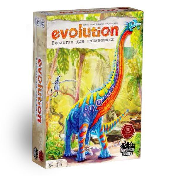 """Настольная игра """"Эволюция"""" - Биология для начинающих"""