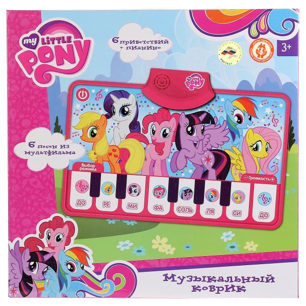 Музыкальный коврик-пианино My little pony