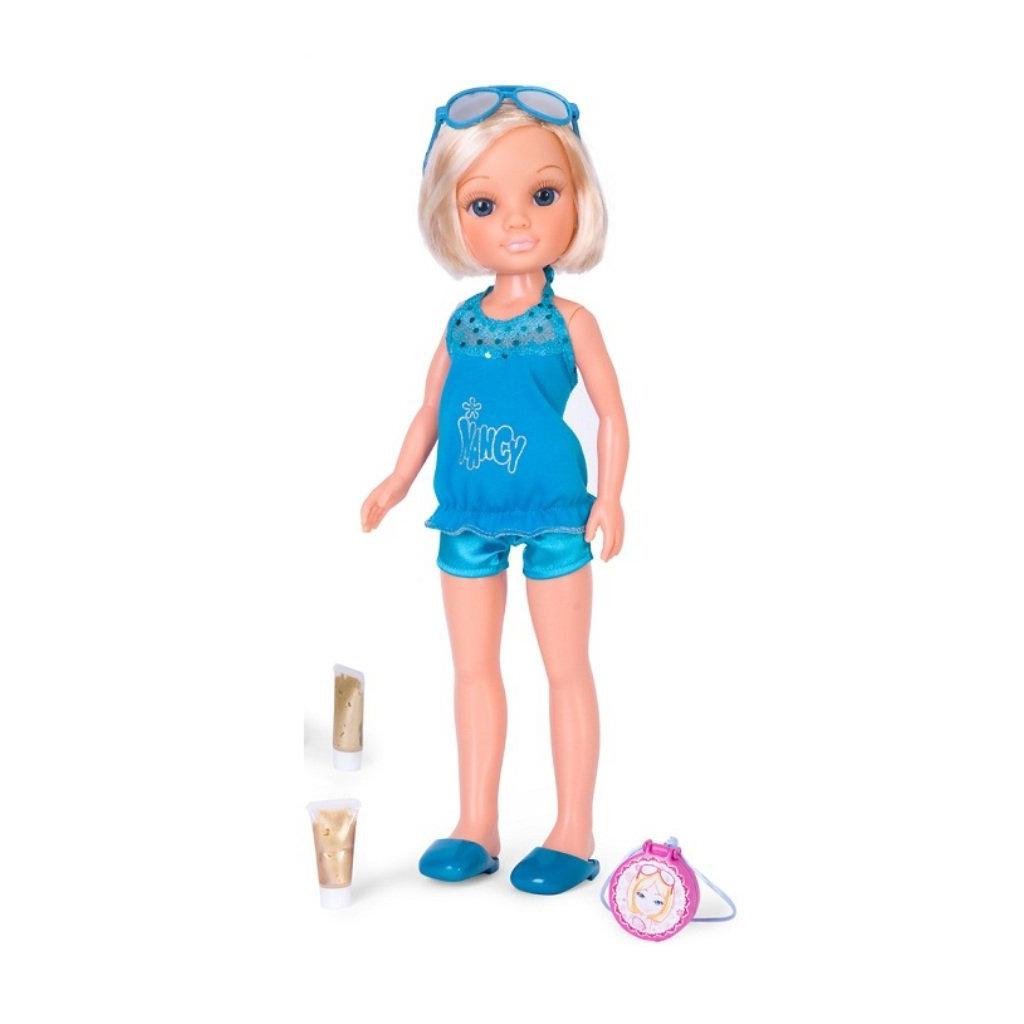 """Кукла """"Нэнси"""" в синем костюме"""