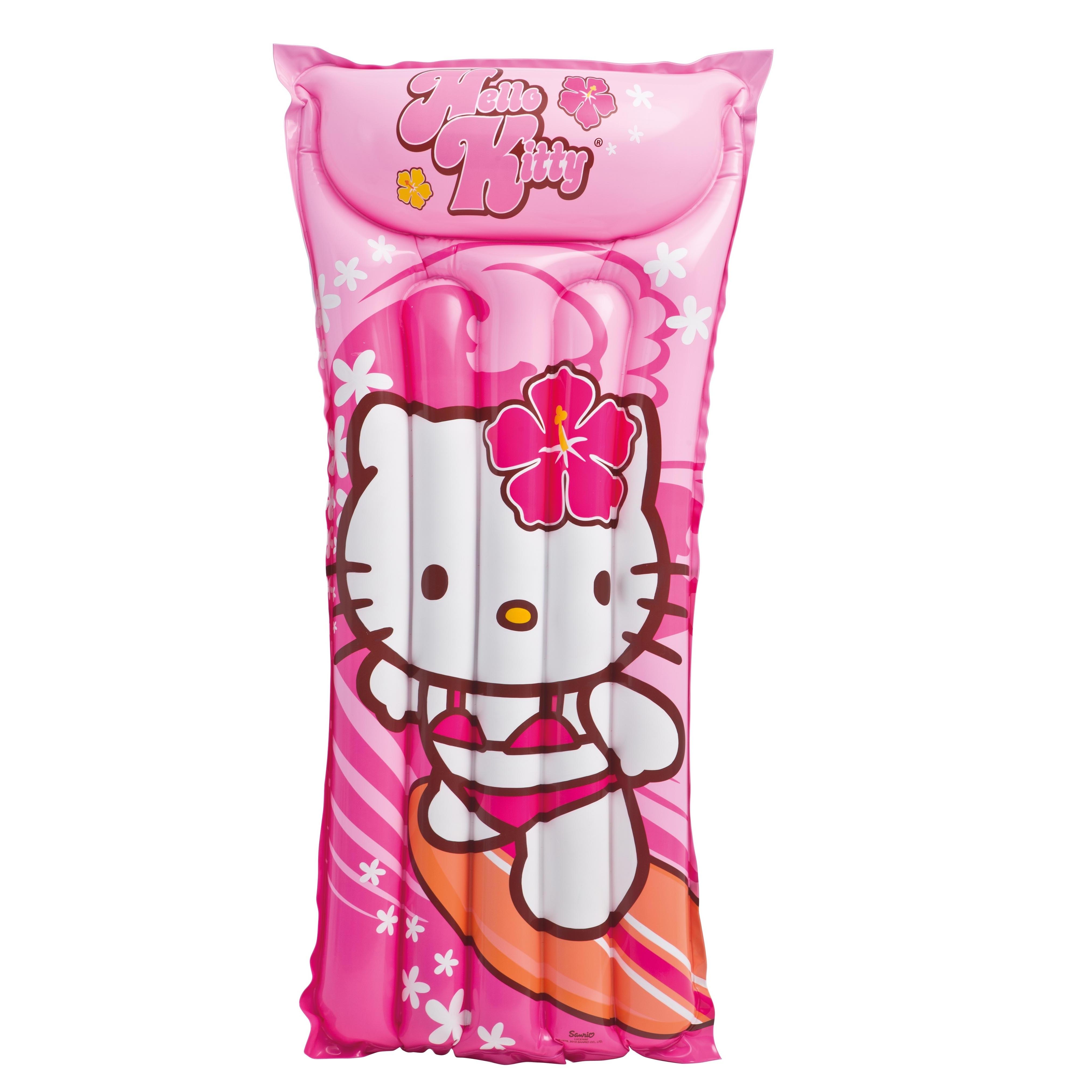 Надувной матрас Hello Kitty, 118 см