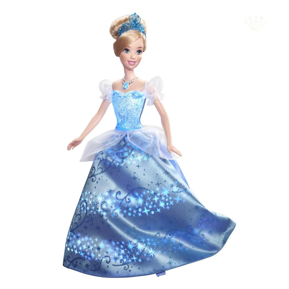 """Кукла Дисней """"Принцесса Золушка в сияющем платье"""" (свет, звук)"""