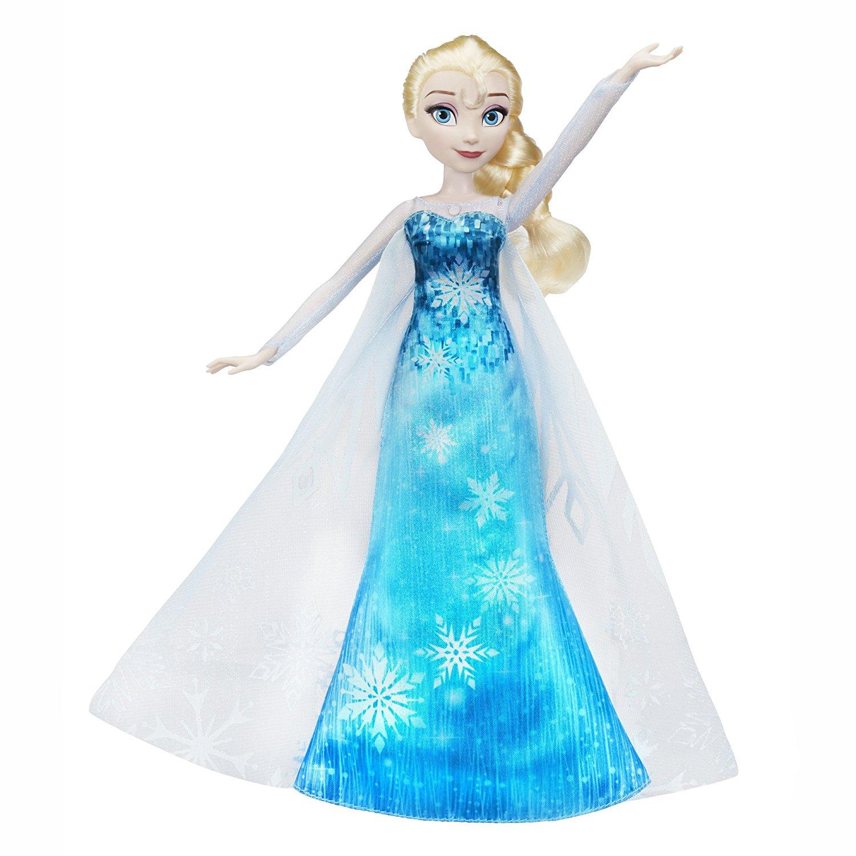 """Кукла """"Холодное сердце"""" - Эльза в музыкальном платье (свет, звук)"""