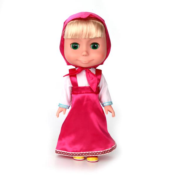 """Озвученная кукла """"Маша и Медведь"""" - Маша, 33 см"""