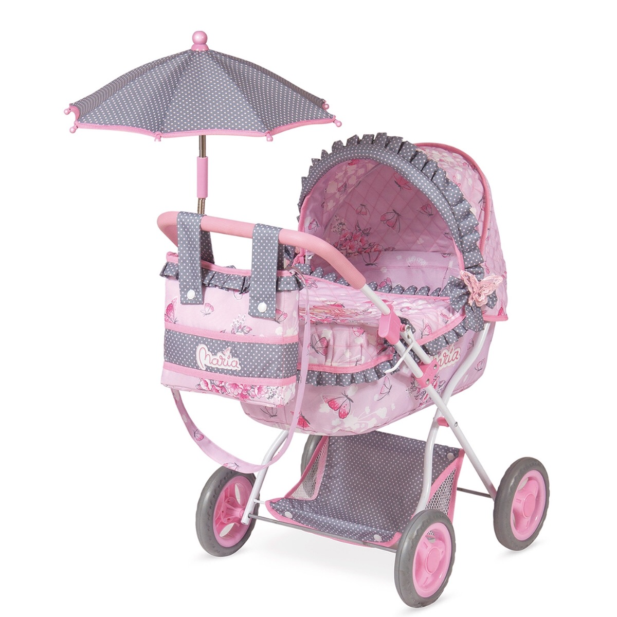 """Коляска для кукол с сумкой и зонтом """"Мария"""""""