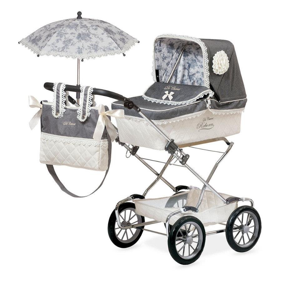 """Коляска для кукол """"Реборн"""" с сумкой и зонтиком, 90 см"""