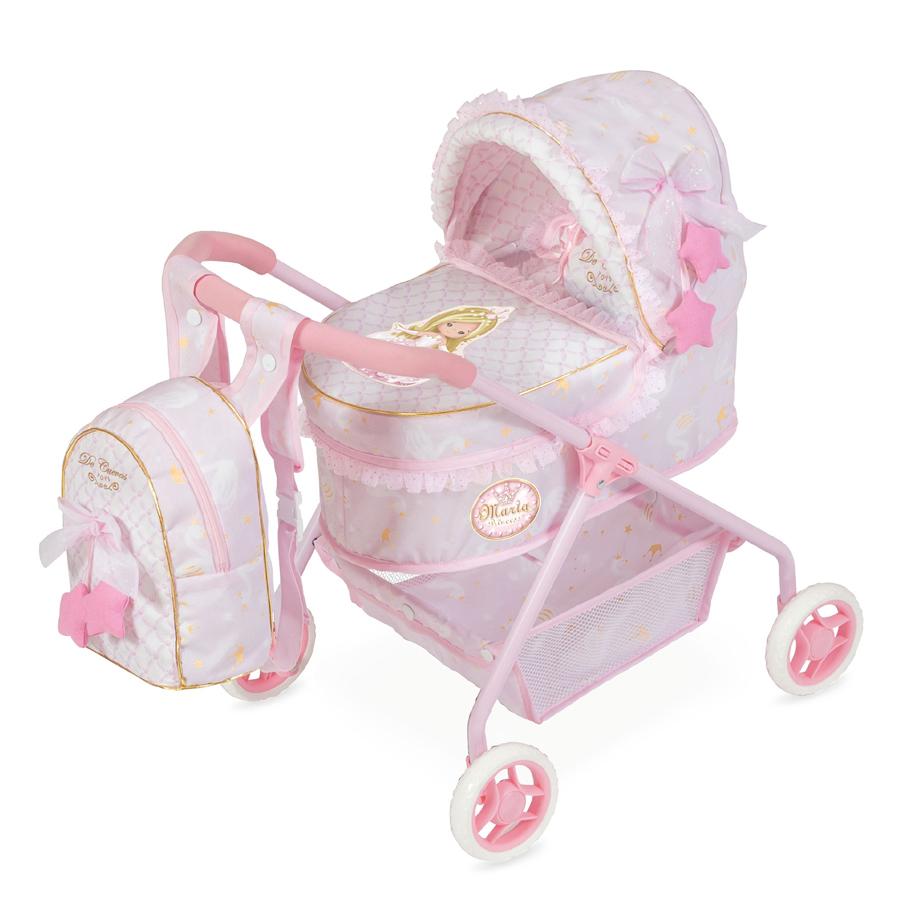 """Коляска для куклы """"Мария"""" с сумкой, 56 см"""