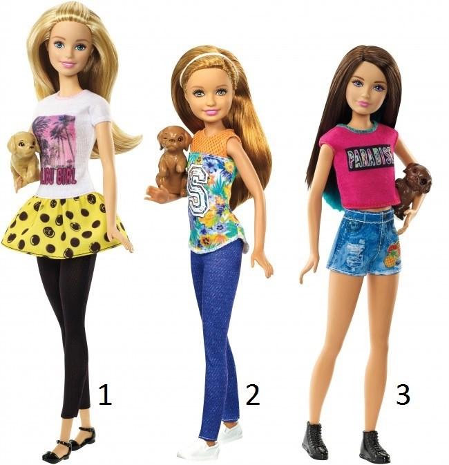 """Кукла """"Барби"""" - Сестры с питомцами"""