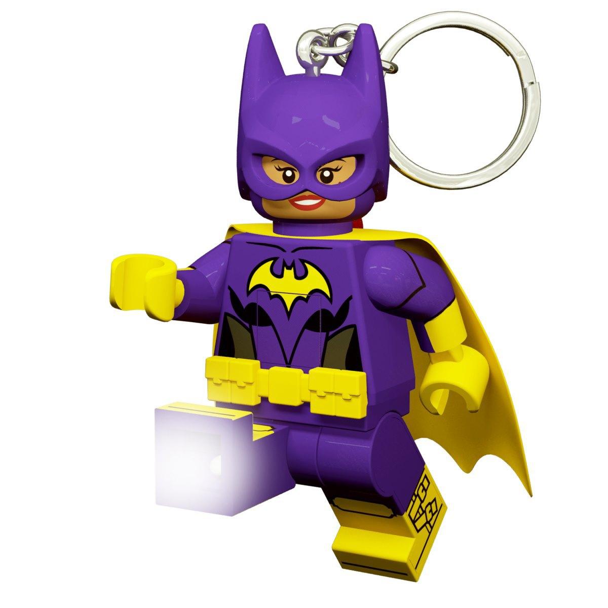 Брелок-фонарик для ключей LEGO Batman Movie - Batgirl, 8.1 см
