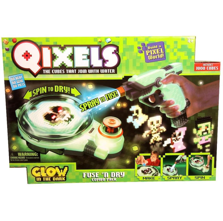 Набор для творчества Qixels с водяным бластером и турбосушкой