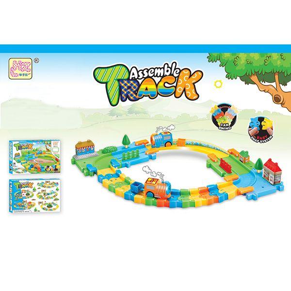 Трек с паровозиками Assemble Track
