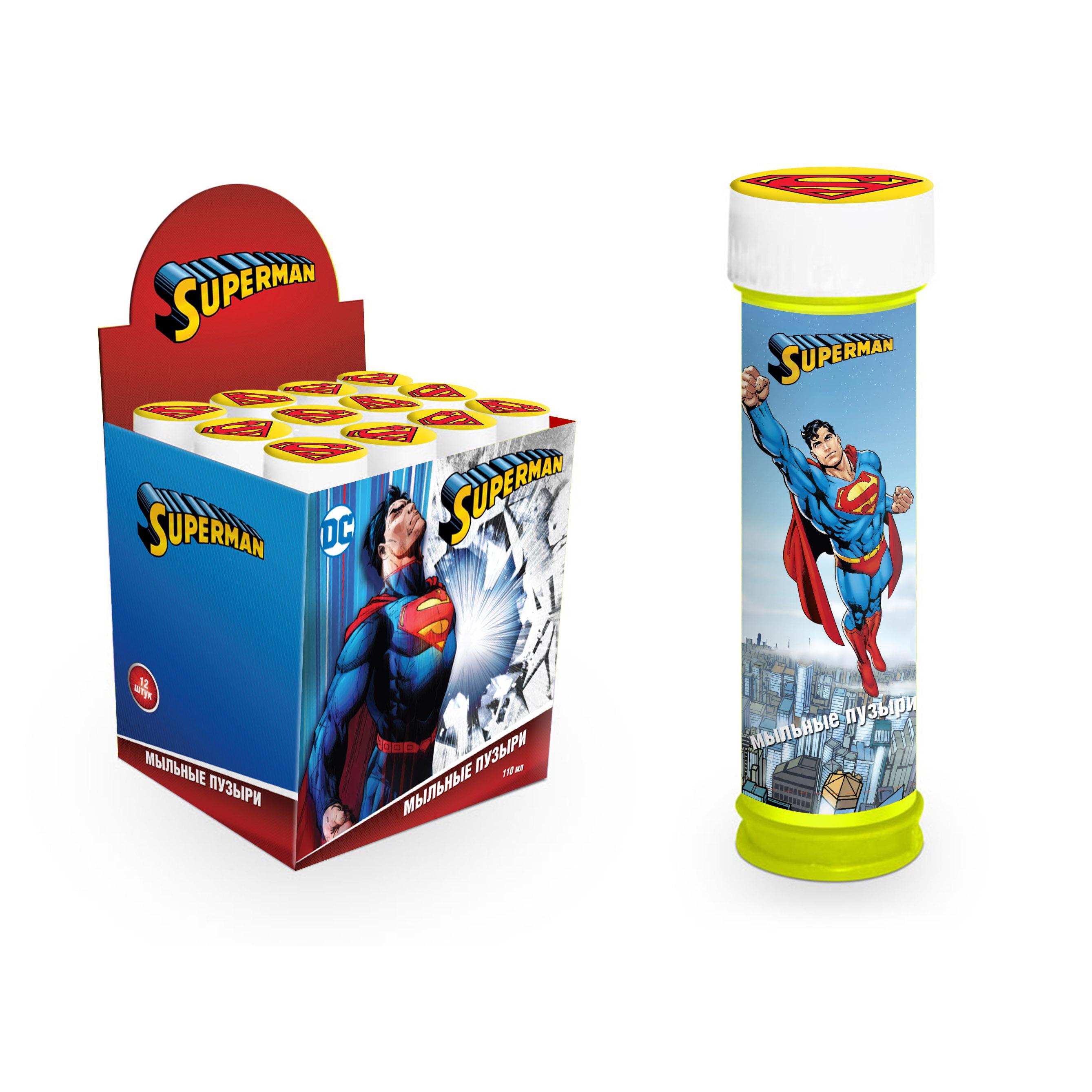 "Мыльные пузыри ""Супермен"", 110 мл"