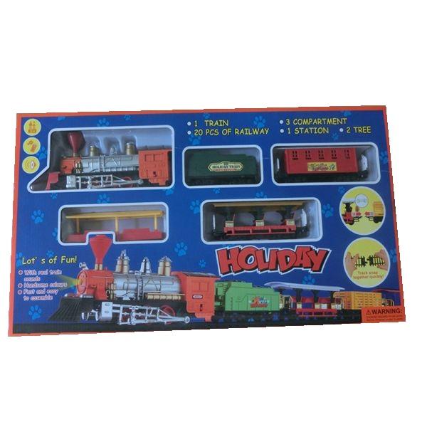 Железная дорога Holiday (свет, звук)