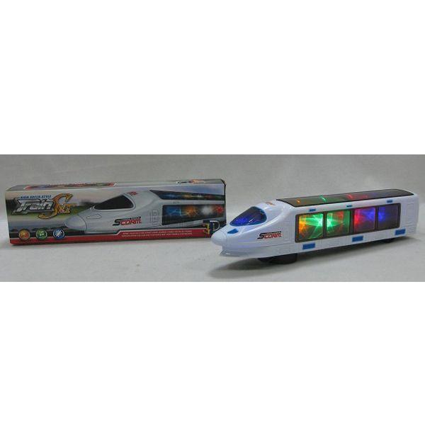 Игрушечный поезд Scorm Train (3D-свет, звук)