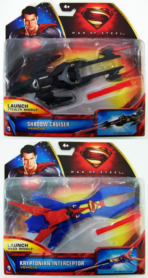 Транспортное средство Superman с фигуркой