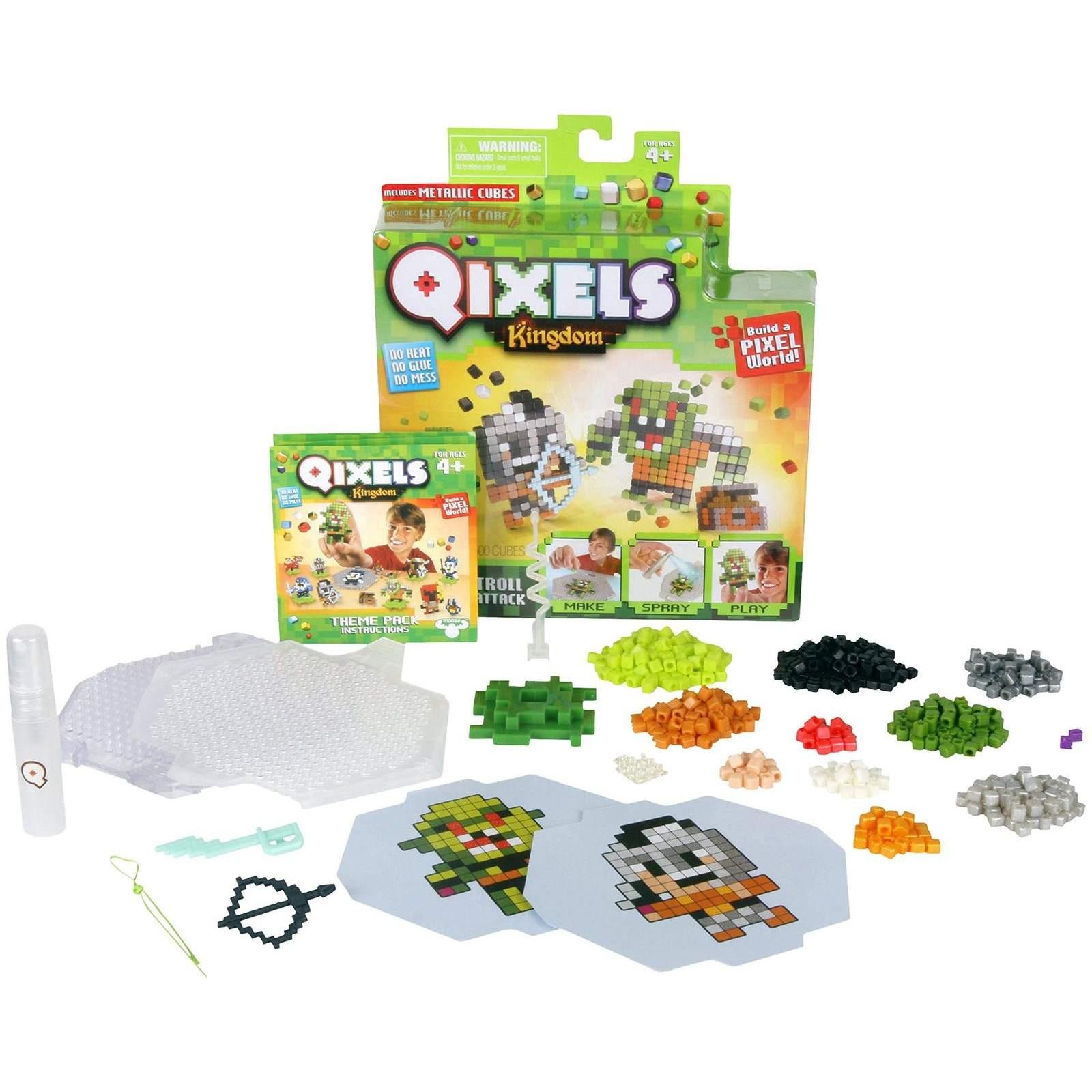 Набор для творчества Qixels Kingdom - Атака троллей