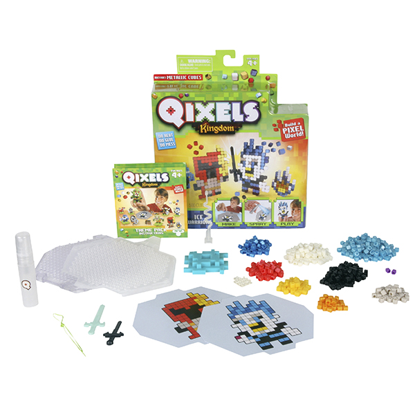 Набор для творчества Qixels Kingdom - Ледяные воины