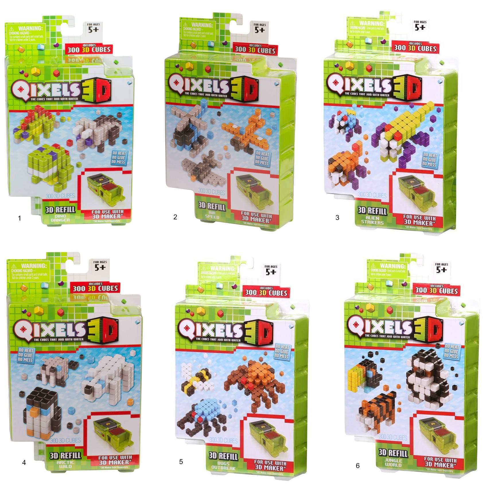 Дополнительный набор Qixels для 3D принтера