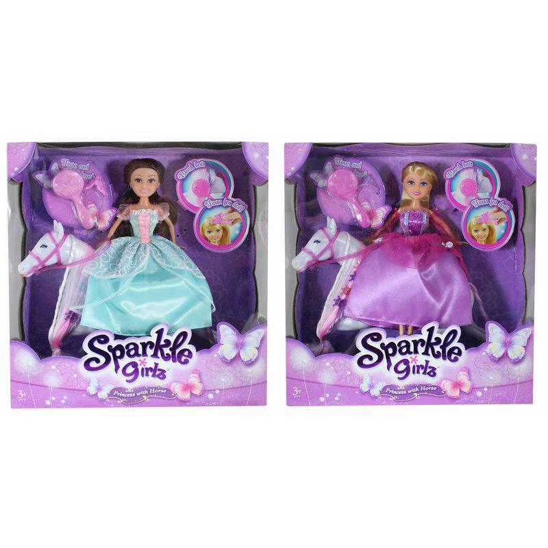 Игровой набор Sparkle Girlz с лошадкой и аксессуарами