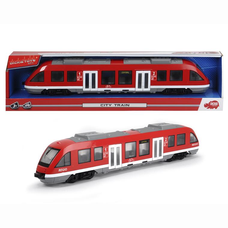 Игрушечный городской поезд, 45 см, 1:43