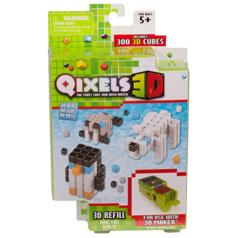 Дополнительный набор для 3D-принтера Qixels - Arctic Wild