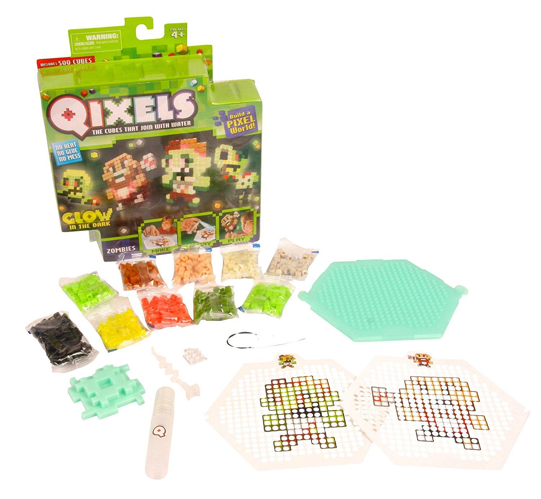 Набор для творчества Qixels - Зомби (светится в темноте)