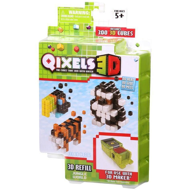 Дополнительный набор для 3D-принтера Qixels - Jungle World