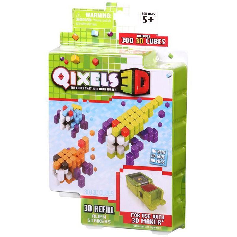 Дополнительный набор для 3D-принтера Qixels - Alien Strikers